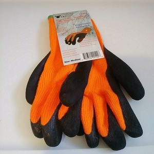 NWT G&F Outdoor Latex Winter Gloves Sandy Finish